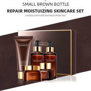 High quality Whitening Repair Anti-aging Anti-wrinkle Hydration Oil Control Face Skin Care Set