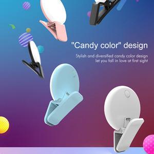 Hot Portable Selfie Flash Led Camera Clip-on Mobile phone Selfie ring light video light Night Enhancing Fill Lamp