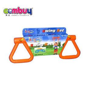 Hot sale kids play plastic sport toy set indoor indian swing