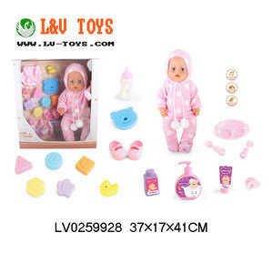 Hot Selling 18 Inch Educational and Musical Baby Doll Set with Doctor Set Baby Doll Toys for Kids