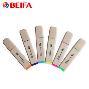 HY101803 BEIFA Factory Supply Multi Colored ECO Highlighters set Pen