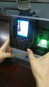 Latest facial recognizing algorithm 500 face & 5000 fingerprint facial recognition machine with camera