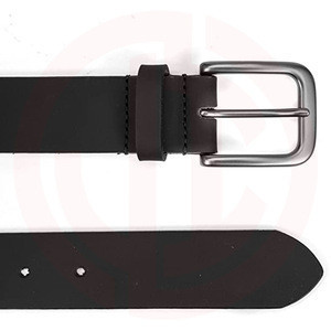 "Leather Ratchet Belt for Men Perfect Fit Waist Size Up to 44"" with Automatic Buckle"