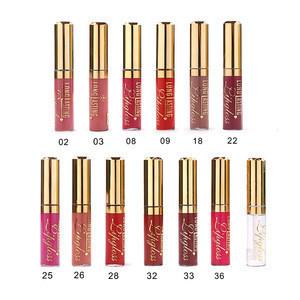Menow L15004 2 in 1 set waterproof red lip gloss + 12 lip oil color cosmetics