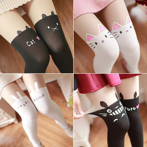 New Beautiful Girls Pattern Nylon Pantyhose Cute Lovely Stockings Women Pantyhose
