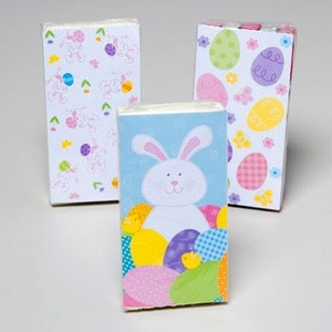 POCKET TISSUE 10CT EASTER PRINTS 3PLY ASST IN 48PC PDQ #G90512