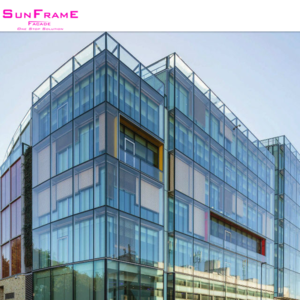 Stick type curtain wall expanded mesh facade top company