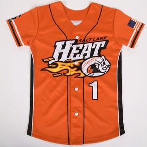 The latest creative design screen print softball Jersey