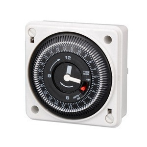 Timer 12V Programmable 220V Delay Dc Off Battery Analog Electric Light 24 Hour With Volt Powered Washing Mechanical Time Switch