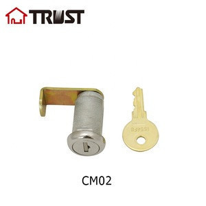 TRUST CM02 Zinc Alloy Shell cam lock office desk furniture Post lock for mailbox