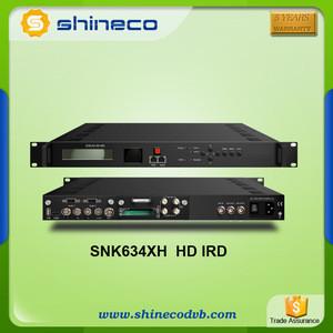 TV Broadcasting Equipment Satellite Receiver with 2 CI Slot