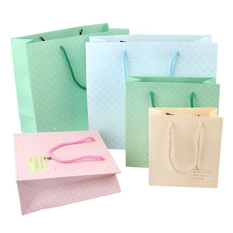 Customized perfume packaging Paper shopping bag