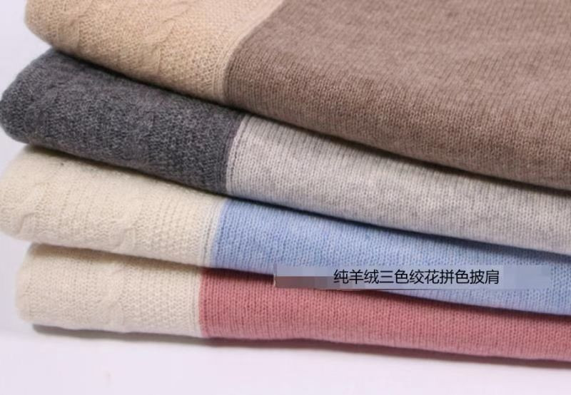 100% cashmere material scarves and shawls