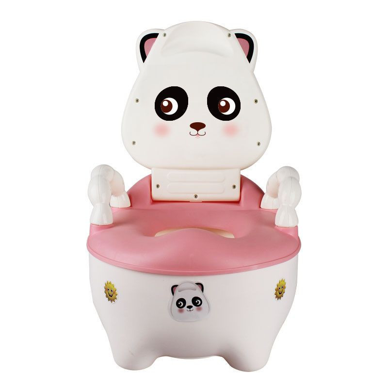 Raccoon toilet baby use