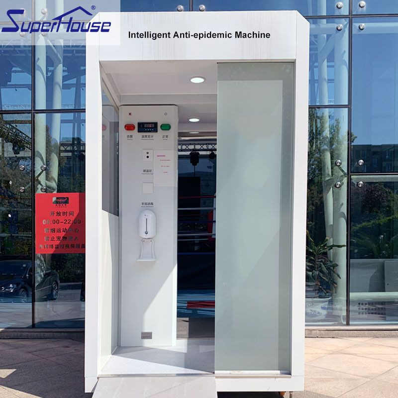Intelligent security inspection disinfection device