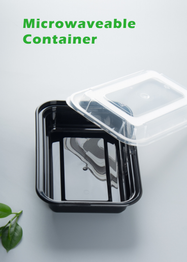 Rec and Round takeway food container