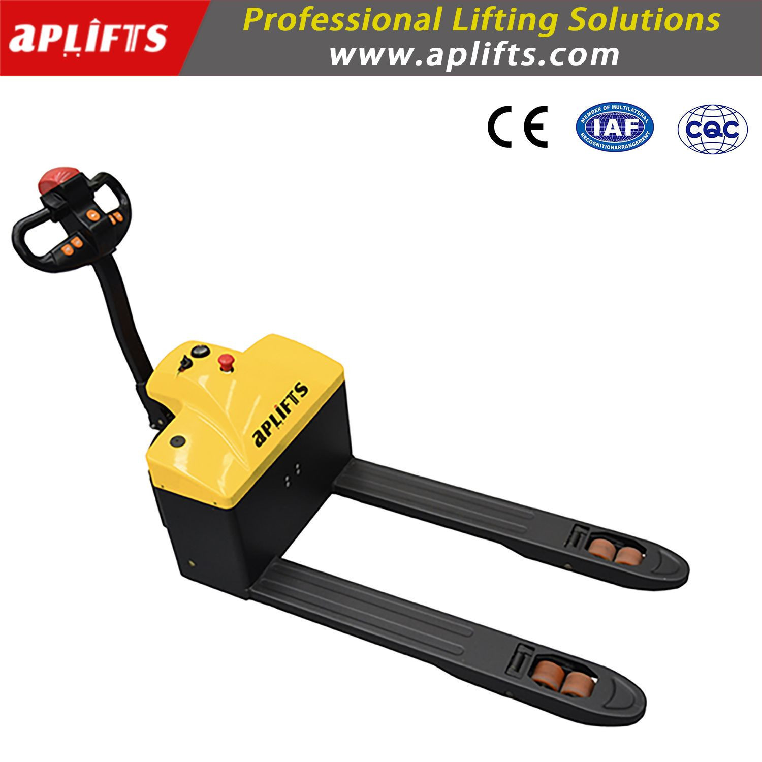 1.5ton 1500kgs Battery Pallet Jack/Electric Pallet Truck with Latest Technology Forklift