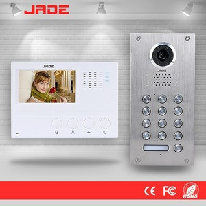 2016hot sales wireless video door phone commax with GSM control by mobile phone