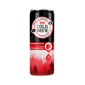 280ml VINUT Premium Strawberry Cold Brew Coffee