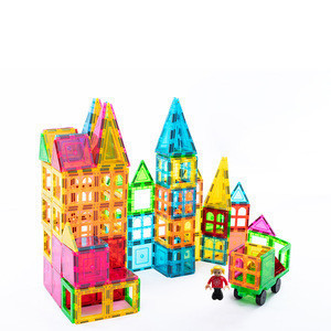 ARTMAG 100 pcs kids toys online magna tiles toys for children magnetic building blocks set
