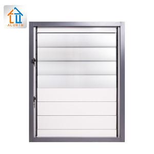 Bathroom cheap price In The Philippines Environmental hung glass shutter Custom aluminum Glass louver Jalousie Windows