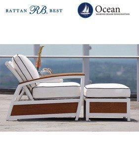 Chaise lounge used teak outdoor furniture