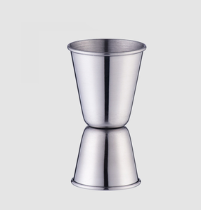 China custom 2cl/4cl double  stainless steel bar cocktail jigger