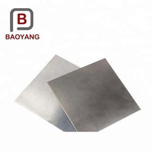 China Manufacturer titanium plate/sheet metal price