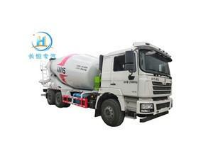 China second hand self loading concrete mixer trucks