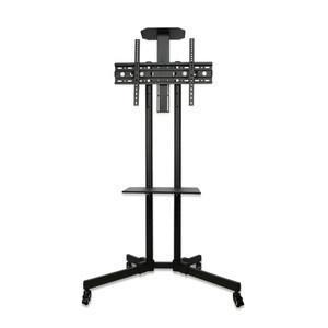Conference cart 32-65 inch LCD TV display rack TV mobile bracket video adjustable Movable TV stand