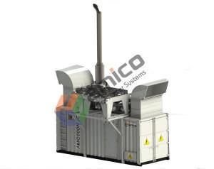 COP 18kW-4500kW 60Hz biogas cogen