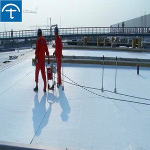 Exposed and unexposed used 1.5mm  thickness TPO waterproofing roll roofing membrane