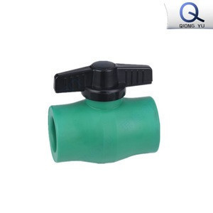 Factory directly supplier PPR ball valve with brass ball