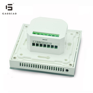 Gaupu GM7-WH digital electric thermostat for floor heating
