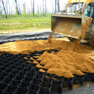 Hdpe plastic geocell price for soil stabilization