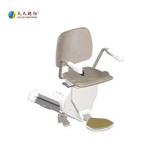 Intelligent JY-ZT Mini automatic retractable straight easy operator for disable people DC electric motor indoor stair lift