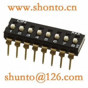 JS0108AP4 DIP Switches Subminiature Slide switch nkk Piano DIP Switches