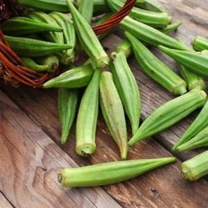 Lady Finger Okra Organic Fresh Okra