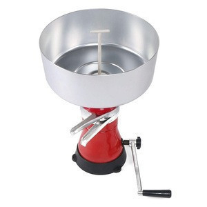 Manual Cream Separator- Kitchen Centrifuge, Hand Cream Machine for Turning Raw or Whole Milk into Cream and Skim Milk
