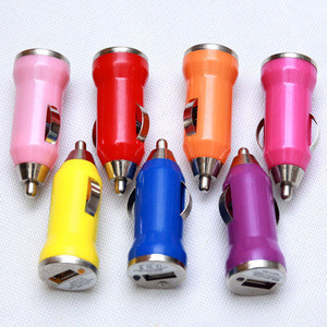 Mini USB Car Charger Adapter for Iphone, Ipod, Mp3 Players, Digital Cameras, Pdas, Mobile Phones