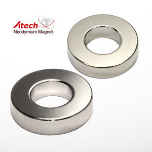 Neodymium Multi Poles Magnetised Diametrically Ring Magnet For Motor Generator Wind Turbine