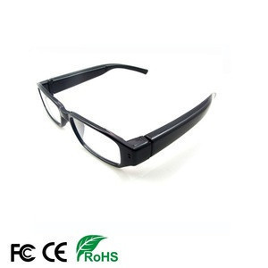 New product wireless security mini glasses video camera hidden spy cctv camera