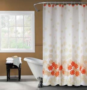 Polyester Fabric Shower Curtain Bathroom Products /colorful fabric shower curtains/luxury fabric shower curtains