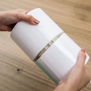 Self adhesive glue modified roof sealing rolls aluminum tape
