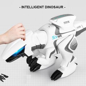Sensor Shaking Head Tail Walk Story IR Radio Controlled Toy Dino Dinosaur Kids Toys Educational