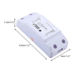 Smart Home Wireless Remote Control Wifi Wireless Switch Intelligent Timer Switch 10A 220W