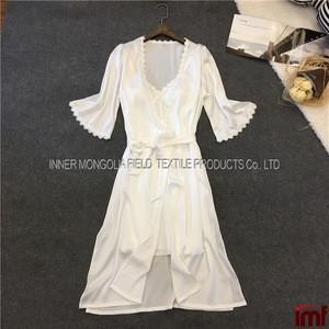 Womens Nightshirts Satin Chemises Slip Sleepwear