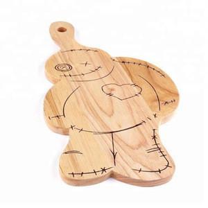 Wooden cute cartoon cutting board chopping blocks for sale
