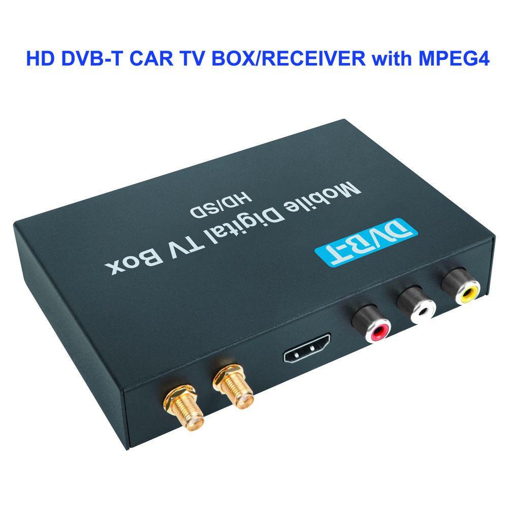 DVB-T Car Digital TV Receiver MPEG-4/H.264