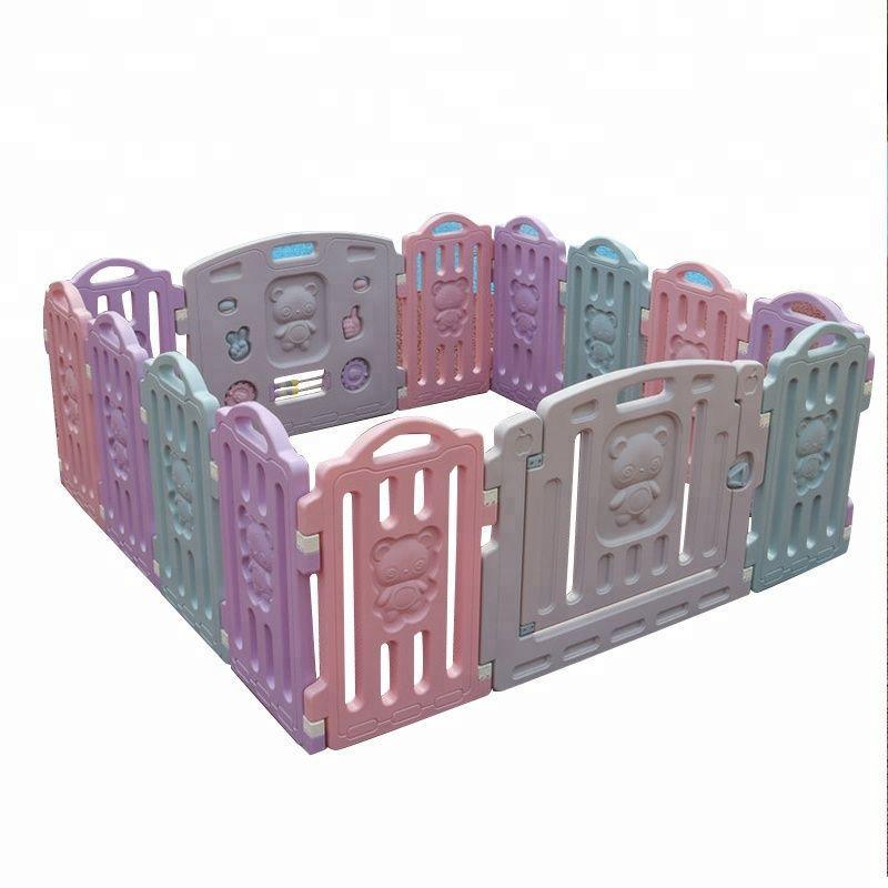 Indoor Mini Eco-friendly Kids Furniture Baby Plastic Fences, Baby Playpen